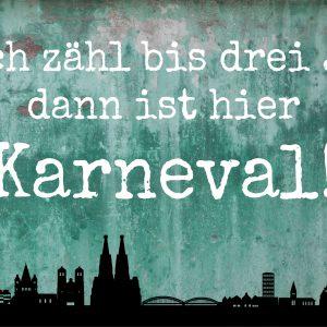 Karneval – türkis